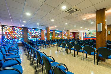 salón de conferencias
